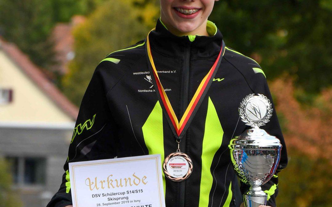 Erster Deutscher Schülercup im Spezialsprung und der nordischen Kombination 2019/2020 in Isny (Allgäu).