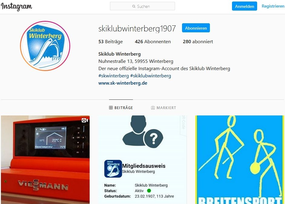 News aus unserem Instagram Account