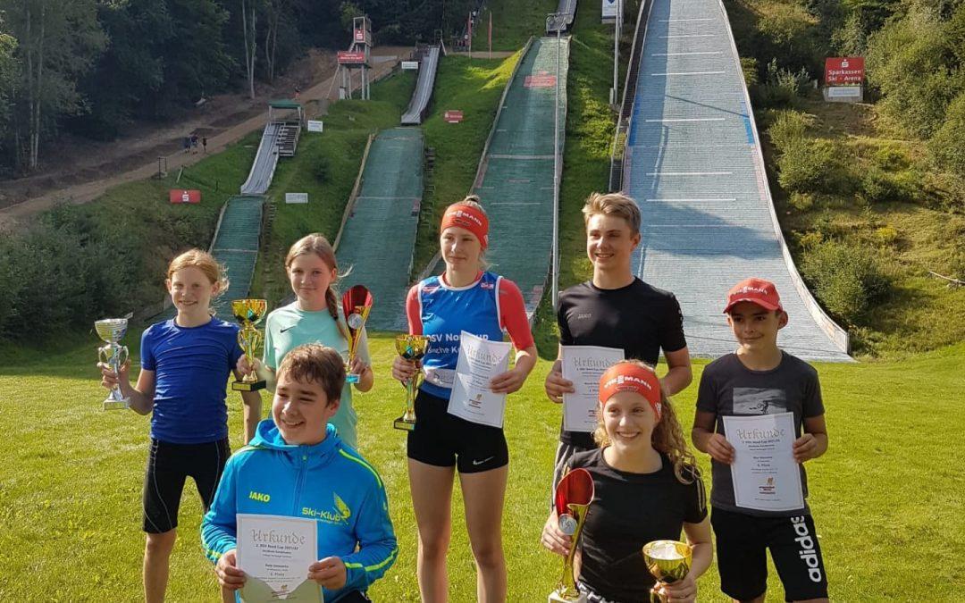 DSV Nord Cup geht in die zweite Runde Erfolgreiches Wochenende für Nordische Kombinierer in Bad Freienwalde