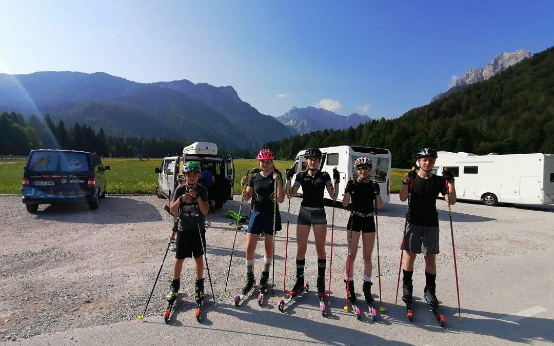 Gemeinsamer Sommerlehrgang in Planica